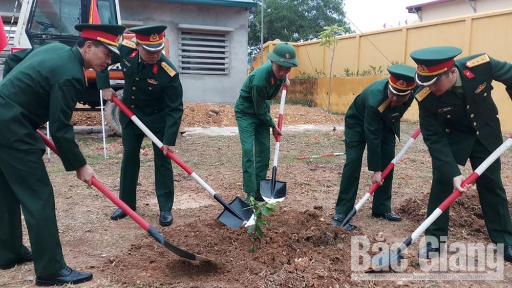 Sư đoàn 3 (Quân khu 1): Ngày đầu xuân trồng 41 nghìn cây xanh